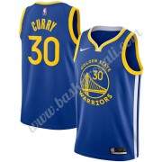 Maglie NBA Golden State Warriors 2019-20 Stephen Curry 30# Blu Icon Edition Canotte Swingman..