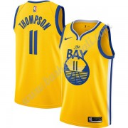 Maglie NBA Golden State Warriors 2019-20 Klay Thompson 11# Oro Finished Statement Edition Canotte Sw..