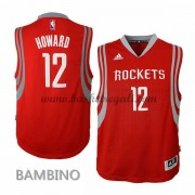 Canotte Basket Bambino Dwight Howard 12# Road 2015-16 Maglia Houston Rockets..