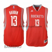 Maglie Basket NBA Houston Rockets Bambino 2015-16 James Harden 13# Road Swingman..