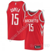 Canotte Basket Bambino Houston Rockets 2019-20 Clint Capela 15# Rosso Icon Edition Swingman..