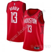 Canotte Basket Bambino Houston Rockets 2019-20 James Harden 13# Rosso Earned Edition Swingman..