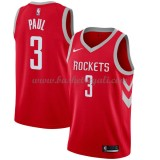 Maglie NBA Houston Rockets 2018 Canotte Chris Paul 3# Icon Edition