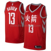 Maglie NBA Houston Rockets 2018 Canotte James Harden 13# City Edition..