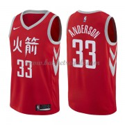 Maglie NBA Houston Rockets 2018 Canotte Ryan Anderson 33# City Edition..