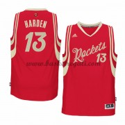 Magliette Basket Houston Rockets Uomo 2015 James Harden 13# NBA Natale Swingman..