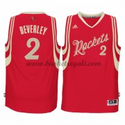 Magliette Basket Houston Rockets Uomo 2015 Patrick Beverley 2# NBA Natale Swingman..