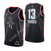 Maglie Basket NBA Houston Rockets 2019 James Harden 13# Nero All Star Game Canotte Swingman..