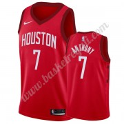 Maglie NBA Houston Rockets 2019-20 Carmelo Anthony 7# Rosso Earned Edition Canotte Swingman..