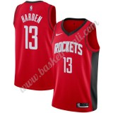 Maglie NBA Houston Rockets 2019-20 James Harden 13# Rosso Icon Edition Canotte Swingman
