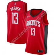 Maglie NBA Houston Rockets 2019-20 James Harden 13# Rosso Icon Edition Canotte Swingman..