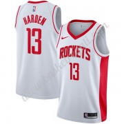 Maglie NBA Houston Rockets 2019-20 James Harden 13# Bianca Association Edition Canotte Swingman..