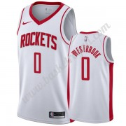 Maglie NBA Houston Rockets 2019-20 Russell Westbrook 0# Bianca Association Edition Canotte Swingman..