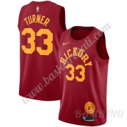 Canotte Basket Bambino Indiana Pacers 2019-20 Myles Turner 33# Rosso Hardwood Classics Swingman..