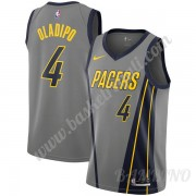 Canotte Basket Bambino Indiana Pacers 2019-20 Victor Oladipo 4# Grigio City Edition Swingman..