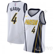 Canotte Basket Bambino Indiana Pacers 2019-20 Victor Oladipo 4# Bianca Earned Edition Swingman..