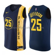 Maglie NBA Indiana Pacers 2018 Canotte Al Jefferson 25# City Edition..