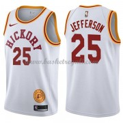 Maglie NBA Indiana Pacers 2018 Canotte Al Jefferson 25# White Hardwood Classics..