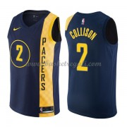 Maglie NBA Indiana Pacers 2018 Canotte Darren Collison 2# City Edition..