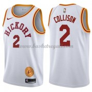 Maglie NBA Indiana Pacers 2018 Canotte Darren Collison 2# White Hardwood Classics..