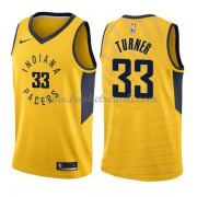 Maglie NBA Indiana Pacers 2018 Canotte Myles Turner 33# Statement Edition..
