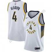 Maglie NBA Indiana Pacers 2018 Canotte Victor Oladipo 4# Association Edition..
