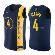 Maglie NBA Indiana Pacers 2018 Canotte Victor Oladipo 4# City Edition..