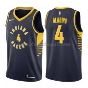 Maglie NBA Indiana Pacers 2018 Canotte Victor Oladipo 4# Icon Edition..