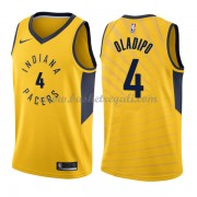 Maglie NBA Indiana Pacers 2018 Canotte Victor Oladipo 4# Statement Edition..