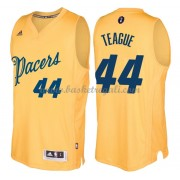 Magliette Basket Indiana Pacers 2016 Jeff Teague 44# NBA Natale Swingman..