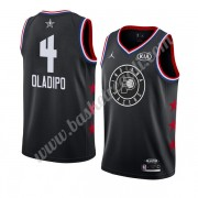 Maglie Basket NBA Indiana Pacers 2019 Victor Oladipo 4# Nero All Star Game Canotte Swingman..