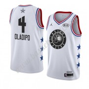 Maglie Basket NBA Indiana Pacers 2019 Victor Oladipo 4# Bianca All Star Game Canotte Swingman..