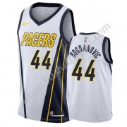 Maglie NBA Indiana Pacers 2019-20 Bojan Bogdanovic 44# Bianca Earned Edition Canotte Swingman..