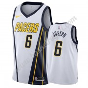 Maglie NBA Indiana Pacers 2019-20 Cory Joseph 6# Bianca Earned Edition Canotte Swingman..