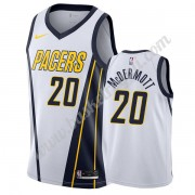 Maglie NBA Indiana Pacers 2019-20 Doug McDermott 20# Bianca Earned Edition Canotte Swingman..