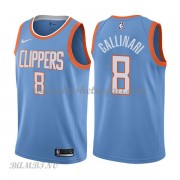 Canotte Basket Bambino Los Angeles Clippers 2018 Danilo Gallinari 8# City Edition..