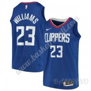 Canotte Basket Bambino Los Angeles Clippers 2019-20 Lou Williams 23# Blu Icon Edition Swingman..