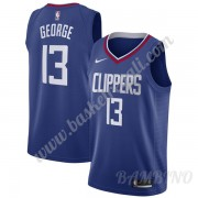Canotte Basket Bambino Los Angeles Clippers 2019-20 Paul George 13# Blu Icon Edition Swingman..