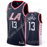 Canotte Basket Bambino Los Angeles Clippers 2019-20 Paul George 13# Marina Militare City Edition Swi..