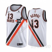 Canotte Basket Bambino Los Angeles Clippers 2019-20 Paul George 13# Bianca Classics Edition Swingman..