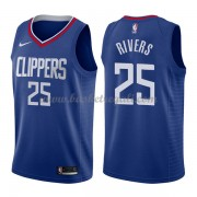 Maglie NBA Los Angeles Clippers 2018 Canotte Austin Rivers 25# Icon Edition..