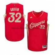 Magliette Basket Los Angeles Clippers Uomo 2015 Blake Griffin 32# NBA Natale Swingman..