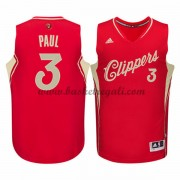 Magliette Basket Los Angeles Clippers Uomo 2015 Chris Paul 3# NBA Natale Swingman..