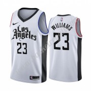Maglie NBA Los Angeles Clippers 2019-20 Lou Williams 23# Bianca City Edition Canotte Swingman..
