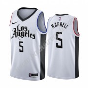 Maglie NBA Los Angeles Clippers 2019-20 Montrezl Harrell 5# Bianca City Edition Canotte Swingman..