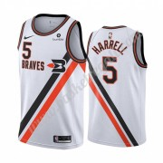 Maglie NBA Los Angeles Clippers 2019-20 Montrezl Harrell 5# Bianca Classics Edition Canotte Swingman..