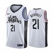 Maglie NBA Los Angeles Clippers 2019-20 Patrick Beverley 21# Bianca City Edition Canotte Swingman..