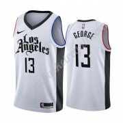 Maglie NBA Los Angeles Clippers 2019-20 Paul George 13# Bianca City Edition Canotte Swingman..