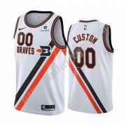 Maglie NBA Los Angeles Clippers 2019-20 Bianca Classics Edition Canotte Swingman..