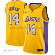Canotte Basket Bambino Los Angeles Lakers 2018 Brandon Ingram 14# Icon Edition..